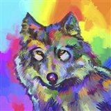 Pop Art - Wolf 2 Art Print