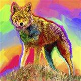 Pop Art - Wolf 3 Art Print