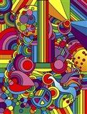 Pop Art - Guitar Art Print