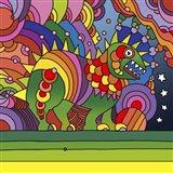 Pop Art - Phinn Monster Art Print