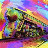 Pop Art - Train Art Print