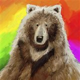 Pop Art Bear Art Print