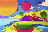 Pop Art Landscape Art Print