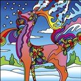 Pop Art Reindeer Art Print
