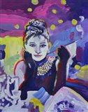 Audrey Hepburn Tiffanys Art Print