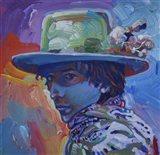Bob Dylan 70S Art Print