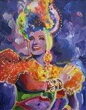 Carmen Miranda 2 Art Print