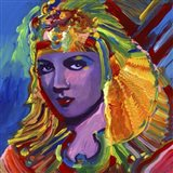 Claudette Colbert Cleopatra Art Print