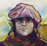 John Lennon Hat Art Print