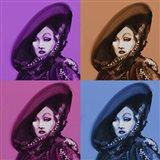 Marlene Dietrich 4Up Art Print