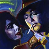 Robert Mitchum Film Noir Art Print