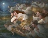 The Herald Angels Art Print