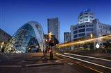 Eindhoven Nighttime Cityscape Art Print