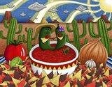 Chips and Salsa Art Print