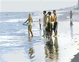 Beach Boys Art Print