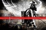 Send Me Firefighter 1 Art Print