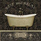 Bath I Art Print