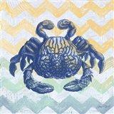 Sea Creatures - Crab Art Print