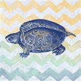 Sea Creatures - Turtle Art Print