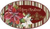 Christmas Time - OvalL Platter Art Print