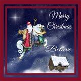 Merry Christmas III Art Print
