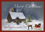 Merry Christmas V Art Print