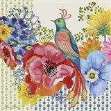 Amber's Delightful Garden Art Print