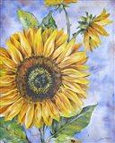 Audreys Sunflower Art Print