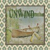 Canoe - Unwind Art Print