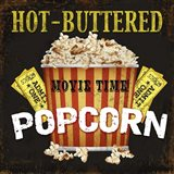 Hot Buttered Popcorn Theater Art Art Print