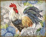 Ironwork Rooster D Art Print