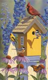 The Yellowbird House Art Print