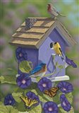 Primarys Butterflies Art Print