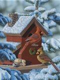 Christmas Cards Art Print