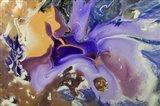 Fluid Acrylic Galactic Portal Art Print