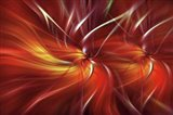 Mystery of Colors Double Flame Art Print