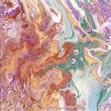 Fluid Acrylic Persian Spring Art Print