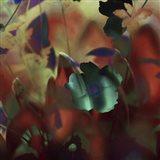 Moonlight Waltz of Flowers Art Print
