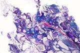 Fluid Acrylic Purple Fantasy Art Print