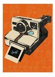 Instamatic Camera Art Print