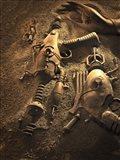 Rayguns On Mars Art Print