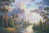 After the Rain - Kangaroo Valley Art Print