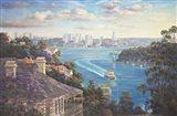Afternoon Light Sydney Harbour Art Print