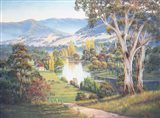 Autumn Reflections - Lacmalac Art Print