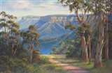 Blue Mountains Bushwalk Art Print