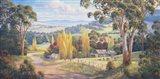 Gilmore Valley Gold Art Print