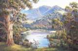 Macleay Valley Morning Art Print