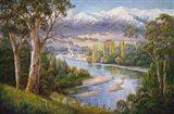 Murray Valley Campers Art Print