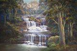 Queen's Cascades Art Print