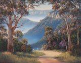 Spring Morning - Katoomba Art Print
